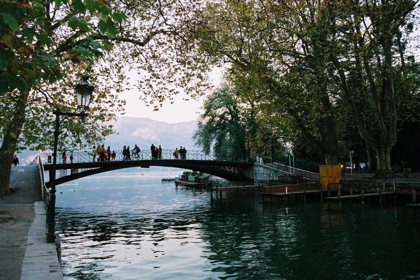 Annecy the bridge of love - Pont des amours ...
